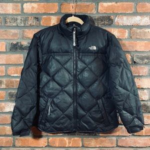 The North Face Quilted Goose Down Puffer Coat